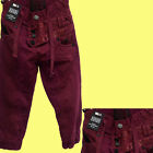 Babies Toddlers Kids Boys Cuffed chino Jogger Jeans Age 2 3 4 5 6 7 8 9 10