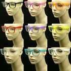 Clear lens glasses nerd geek fake eye wear men women fashion hipster frame style