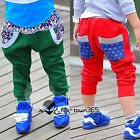 Autumn/Spring Baby Boy Toddlers Child Kids Snowflake Harem Trousers Pants 3-8Y