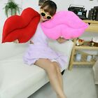 new lip plush toy pink and red lip cushion sexy throw pillow festival gift