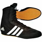 New Adidas Box Hog 2 Boxing Boots shoes trainers black adult mens boys womens