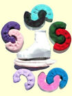 Terry Cloth S-T-R-E-T-C-H Blade Covers / Skate Soakers 12 COLOR CHOICES SML-MED