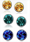 Fashion Swarovski Crystal Dazzle Stud Earrings Ear studs Fashion Jewelry 3colors