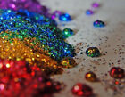 Nail Art Glitter Including Iridescent & Holographic 10g & 20g .008 Ultra Fine
