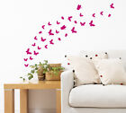 12-42 Butterflies With 2 Shapes Art Vinyl Wall Stickers, Home Diy Wall Decor