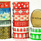 Paper Washi Masking Tape Sticky Adhesive Roll Decorative Craft Gift SOMI XMAS II