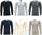 Men's 100% Pure Cotton Heavy Weight (240 gsm)Soft Long Sleeve Fitted T-Shirt