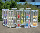 Small acrylic sand clock glass Hourglass Kitchen Egg Timer 3min child's gifts