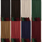"Velour Plain Dyed Door Curtain. 84"" Drop, 46"" or 66"" Wide. In 8 Colours"