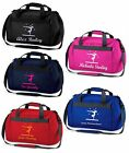 Personalised Printed Gymnastics Holdall / Bag, Various Bag and Print Colours