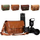 Waterproof Camera Shoulder Carry Bag Padded Insert For DSLR Canon EOS Nikon Sony