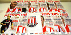 12/13 Stoke City Home Programmes v Your Choice