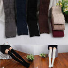 Women Girls Knit Over Knee Thigh Stockings High Cotton Socks Pantyhose Tights