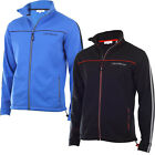 Calvin Klein Golf Full Zip Bonded Tech Golf Pullovers