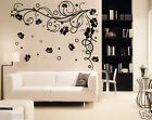 Fancy Tribal Florals Wall Art Decor,Home Decor,Wall Stickers,Wall Decals w139