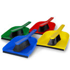Professional Dust Pan and Brush Set for Cleaning Sweeping 4 Colours Dustpan