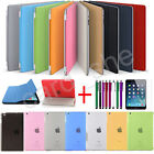 Magnetic Smart Cover Skin and Hard Back Case Stand for Apple iPad Air iPad Mini