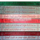One Metre Long Personalised Good Luck Leaving Banner or any Requested Occasion