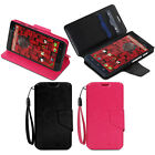 PREMIUM Wallet-Style Bank Case Protective Cover w/ Stand For Motorola DROID MAXX