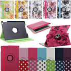 Multiple For iPad Air 5 4 Mini 2 360 Rotating PU Leather Smart Case Cover Stand