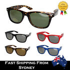Mens Ladies Fashion Smaller Wayfare Sunglasses Retro Black Brown Green Blue Red