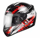 LS2 FF351 ATMOS GRAPHIC FULL FACE LIGHTWEIGHT MOTORCYCLE MOTORBIKE CRASH HELMET