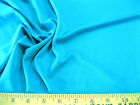 Discount Fabric Lycra /Spandex 4 way stretch Solid Caribbean Blue 937LY