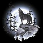 Wolf Moon T Shirt You Choose Style, Size, Color  Up to 4XL 10416 image