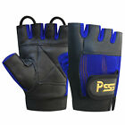 WEIGHT LIFTING PRIME LEATHER PADDED GLOVES SPORTS FITNESS BODY BUILDING GYM 305