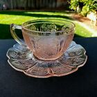 Pink Cherry Blossom Cup and Saucer