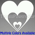 Custom Heart Vinyl Sticker, Heart in Hearts, Multiple Colors, Heart102