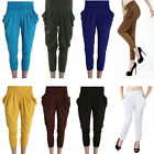 New Unisex Fashion comfort Harem Pants Long Sport Yoga Pants 14 Colors one Size