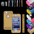 Heavy Duty Silicone PC Shockproof DirtProof Cover Case For Apple iPhone 5 5S 5C
