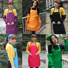 New Women Girls Fashion Kitchen /Office Bid Aprons Cooking Chef Apron 6 Color