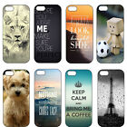 Quote The Lion Keep Calm Hard Plastic Case Back Cover For iPhone 4 4S 5 5G 5S 5C