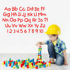 ALPHABET AND NUMBERS nursery letters childrens room VINYL WA
