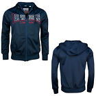 Lonsdale COUNTY Retro Hooded Tricot Training Jacket Jogging Sport Hoodie S-XXL