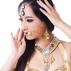 New Belly Dance Costume Accessorie​​s Metal Coins Indian Dance Nose Chain 9color