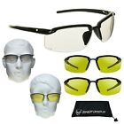 Yellow Safety Glasses for Night Riding, Night Cycling, Night Driving & Hunting