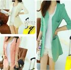 Fashion Womens OL/Casual Suit Blazer Outwear Solid Slim Coat Jacket  M-XL  LJ