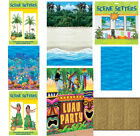 HAWAIIAN LUAU PARTY BEACH SCENE SETTERS ROOM ROLL WALL DECORATIONS CHOOSE STYLE