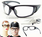 Unbreakable TR90 Safety Glasses Clear Z87 Motorcycle Cycling Hunting Shooting