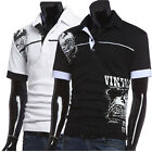 Smart Mens Slim Fit Fashion Classic POLO Shirt Short Sleeve Casual T-shirts S~XL