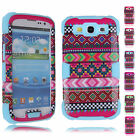 New Unique Pattern PC Durable Protector Cover Cases For Samsung Galaxy S3 i9300