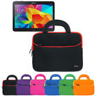 Tablet Neoprene Sleeve Cover Handle Carrying Case For Samsung Galaxy Tab 4 10.1""