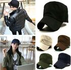 Stylish Plain Men's Military Army Cap Castro Cadet Patrol Cap Hat Adjustable-LJ
