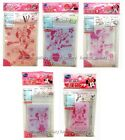 Disney Minnie Mouse Make up Accessories Plastic Zip Bags Cases Organizer