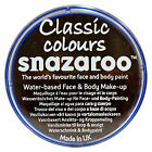 Snazaroo 18ml and 75ml BLACK FACE PAINT Fancy Dress Party Stage MakeUp