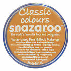 Snazaroo 18ml OCHRE YELLOW FACE PAINT Fancy Dress Party Stage MakeUp