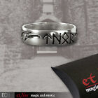 Echt Etnox Runes of Thor Ring, Silver Plated, Thor's Hammer 1ST CLASS REC DEL